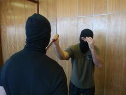 Bojové použití nože