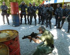 Střelecko-taktický výcvik