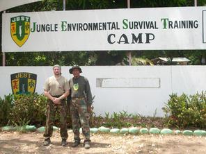 JEST Camp - Survival training Filipíny