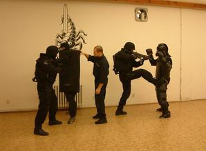 Nácvik technik boje zblízka/CQB