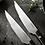 Thumbnail: Nakiyo Premium Half Serrated Steak Knives Set of 4