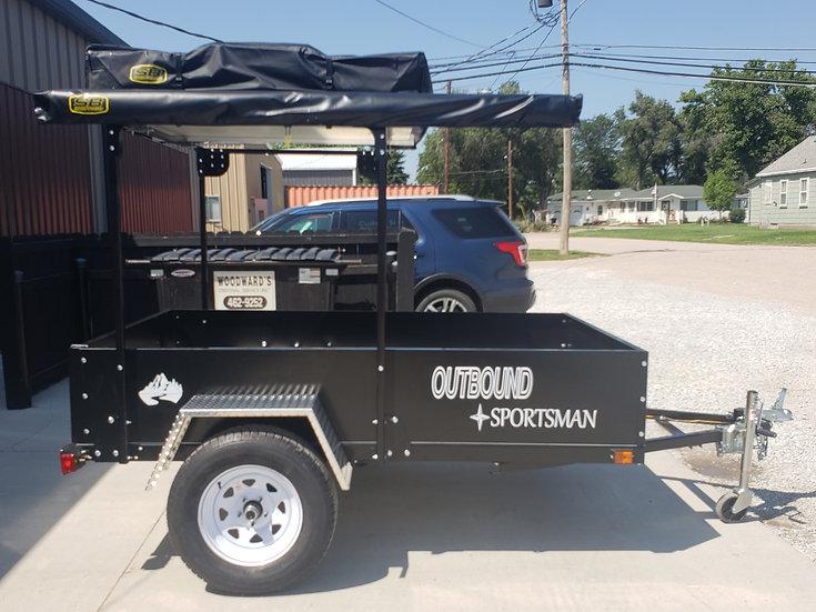 Outbound Sportsman- Base Model: Trailer & Frame for Tent