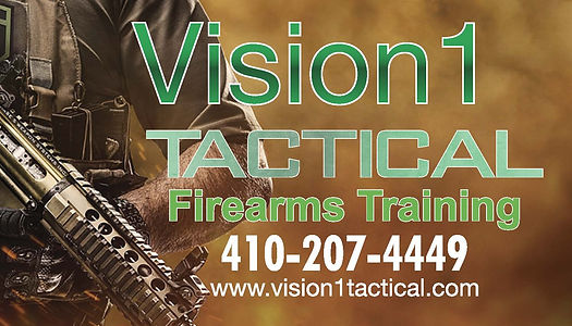 Vision1 Tactical Business Card