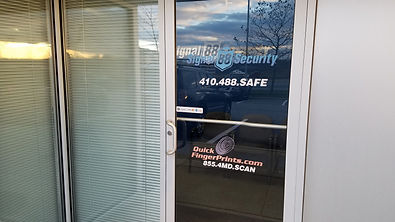 Front Door of Middle River Location