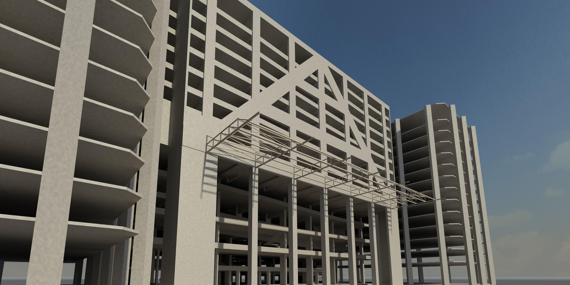 3D Structural Modeling The Towers - Copy