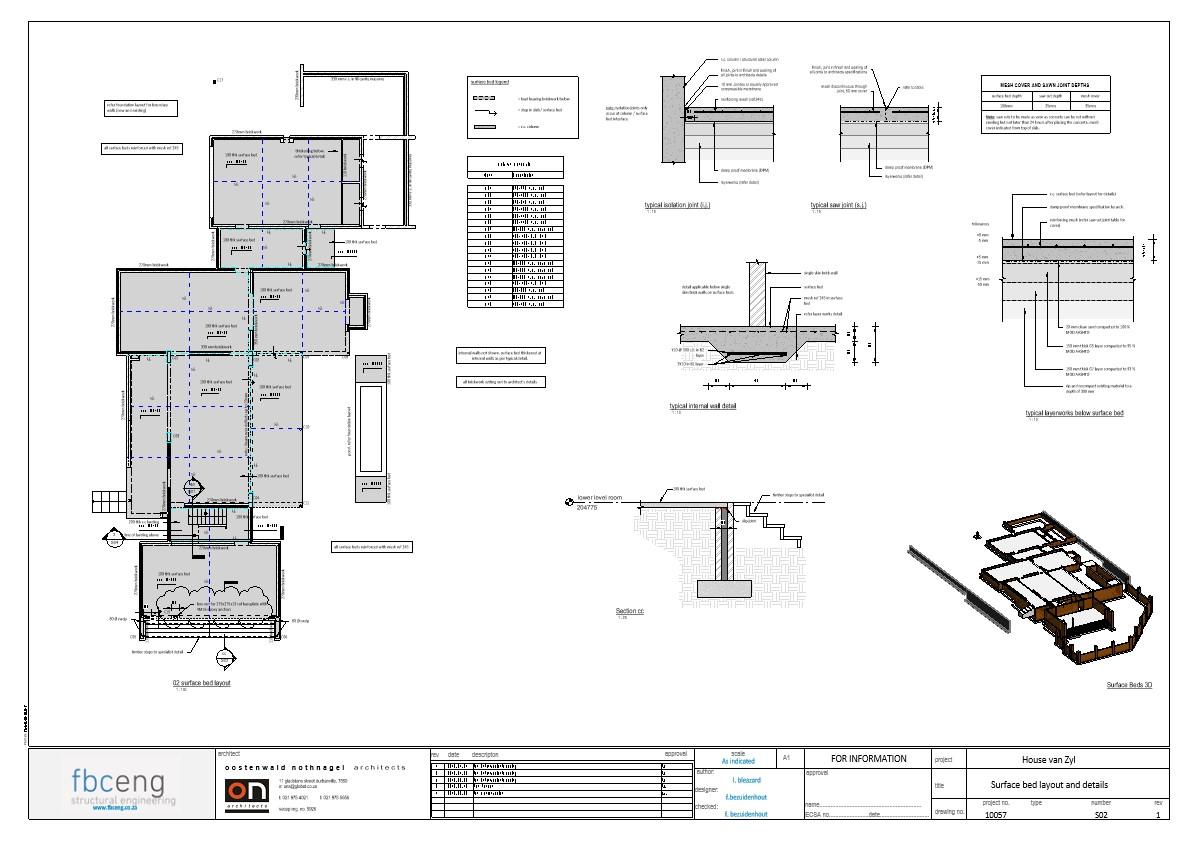 House van Zyl_rev1 Working - Sheet - S02