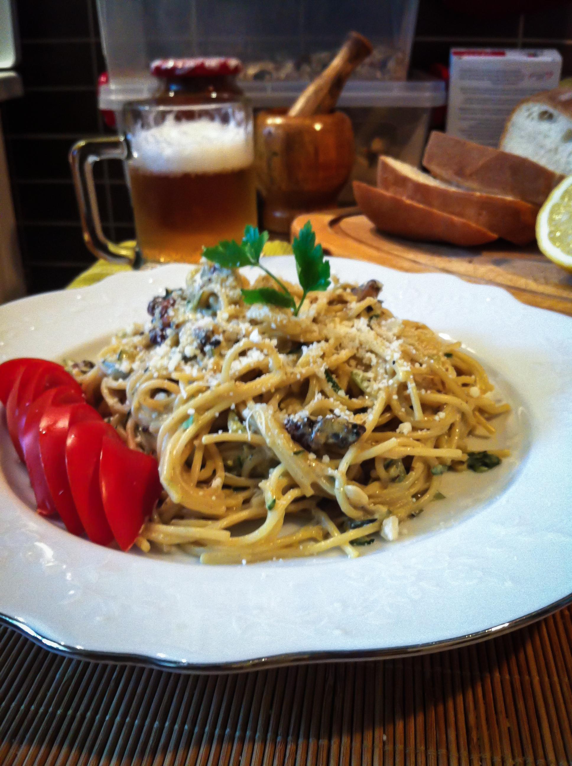 Pasta Zucchini