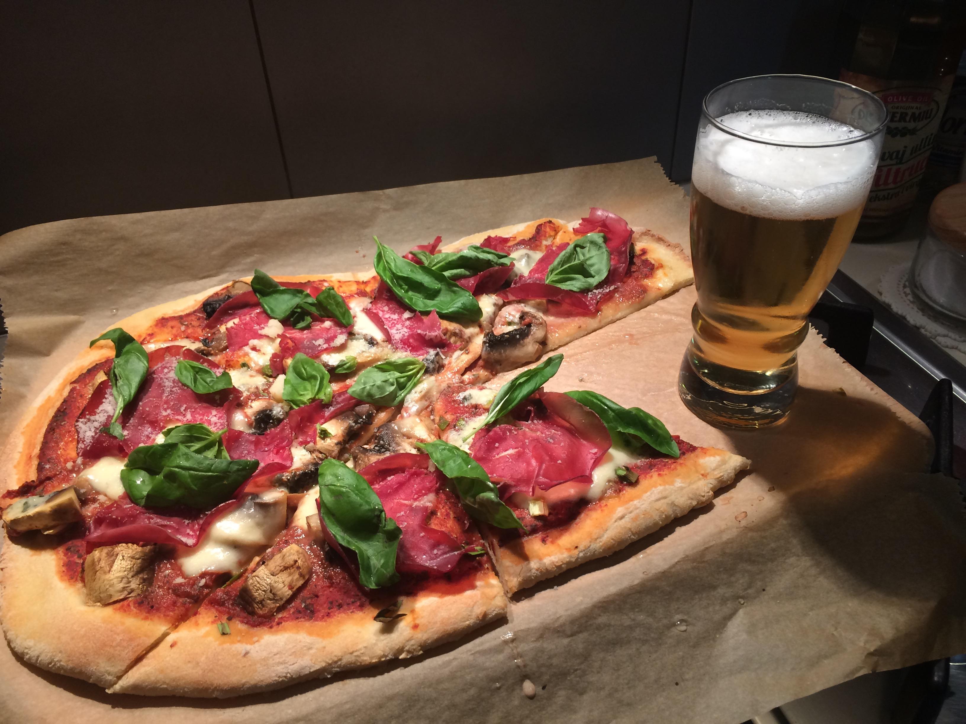 Pizza Braseola