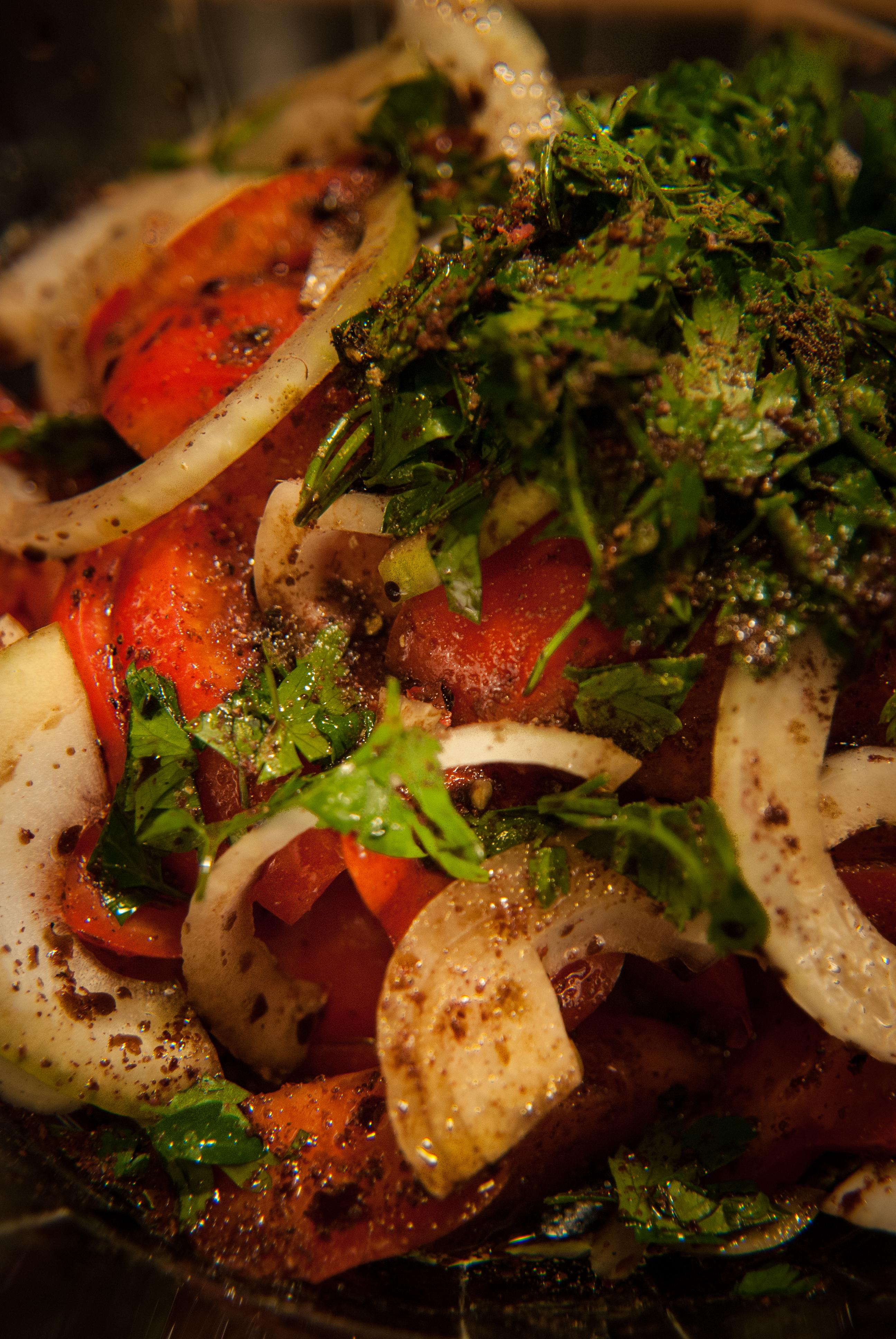 Salată de Roșii Detaliu