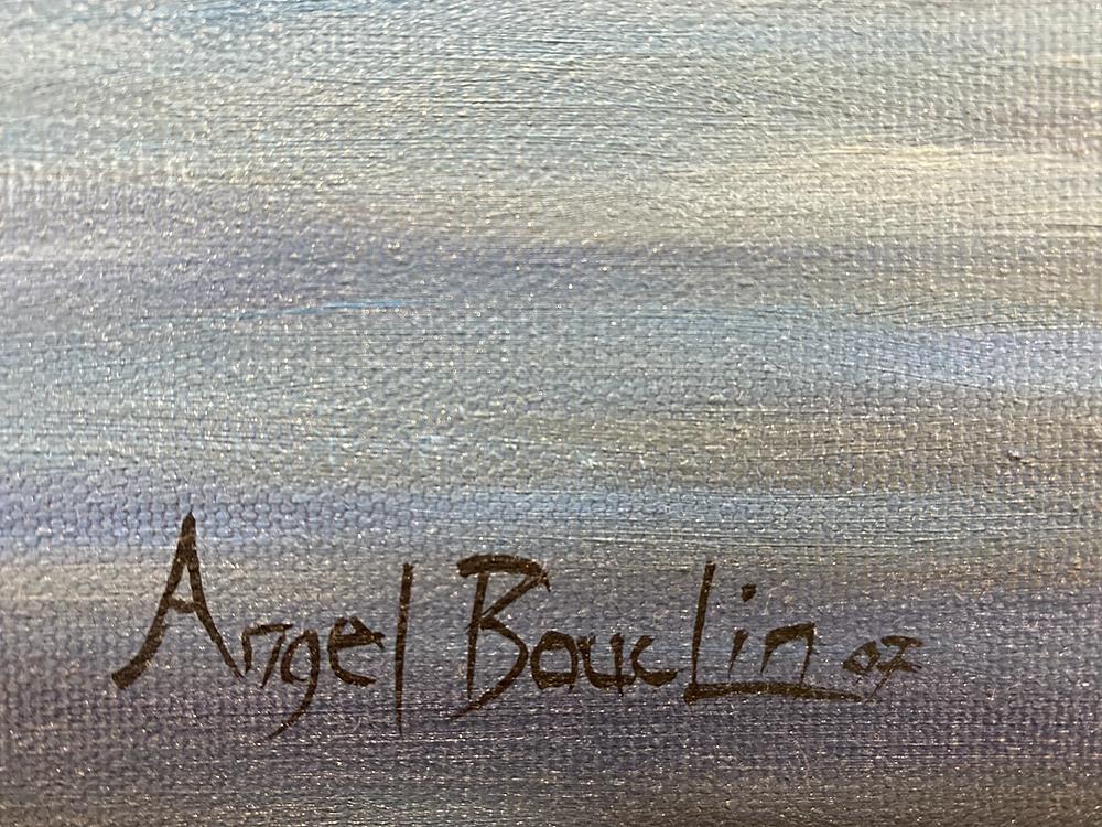 Signature de peinture