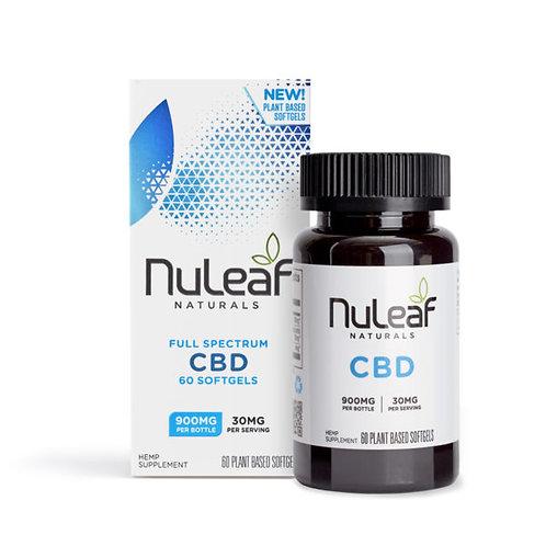 NuLeaf Full Spectrum CBD Softgels