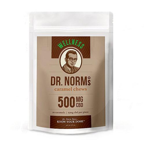 Dr. Norm's 25mg CBDCaramels