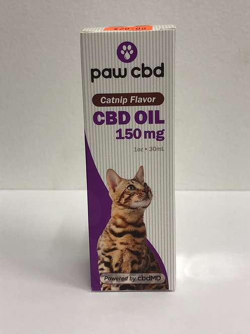 cbdMD Cat CBD Oil with Catnip flavor