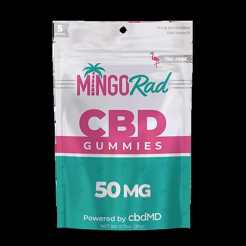 Mingo THC-Free Gummies by cbdMD