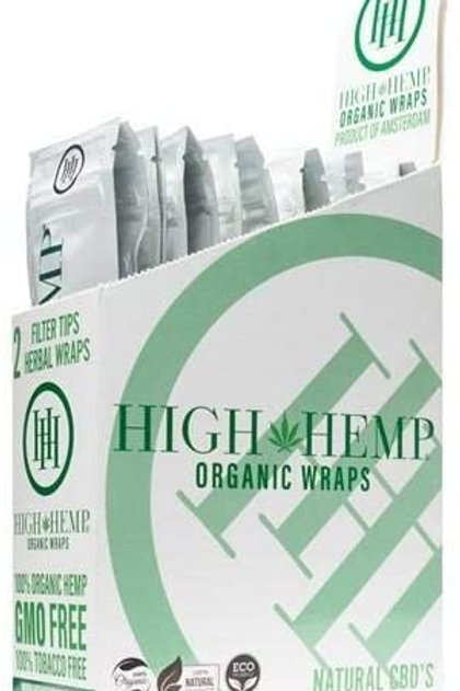 Hemp Wraps Organic Assorted Flavors