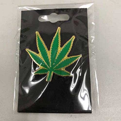 Green Leaf Pin