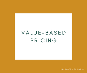 Value-based pricing | Increase your value, increase your price