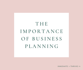 The importance of business planning | Why you need a plan