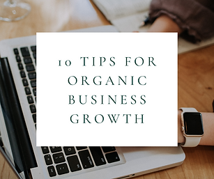 10 Tips for Business Growth FB + Blog Co