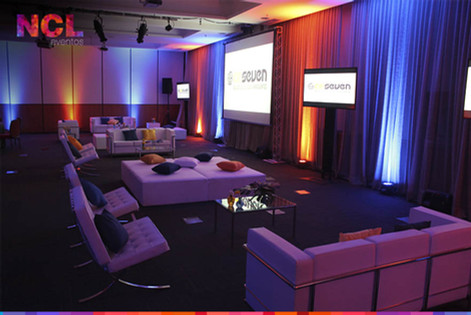 Lounge Reunião Corporativa