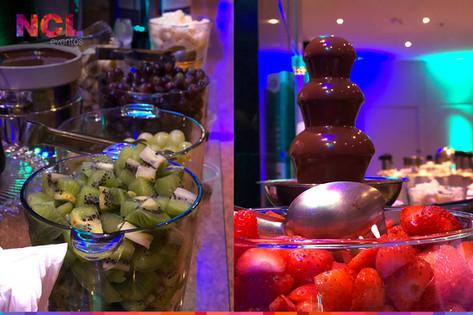 Cascata de Chocolates & Cupcakes