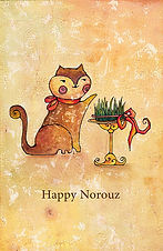 Norouz Illustrator Nasim Abaeian Children Books