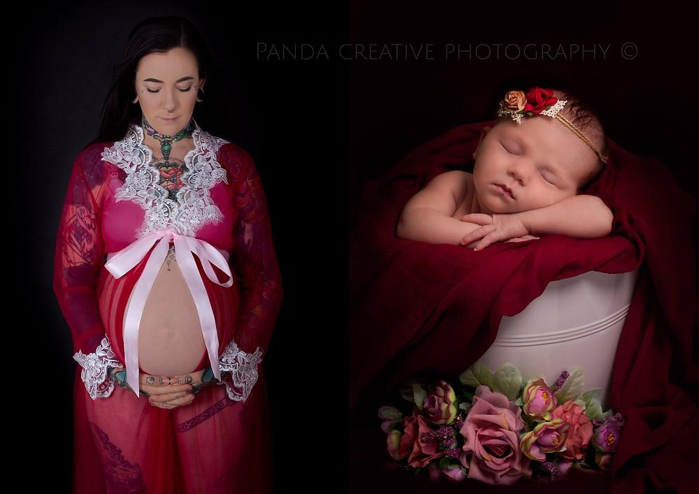 Maternity photoshoot Newborn photoshoot