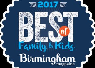 Morning Garden Program Wins Birmingham Magazine's 2017 Best of Birmingham for Families & Kid