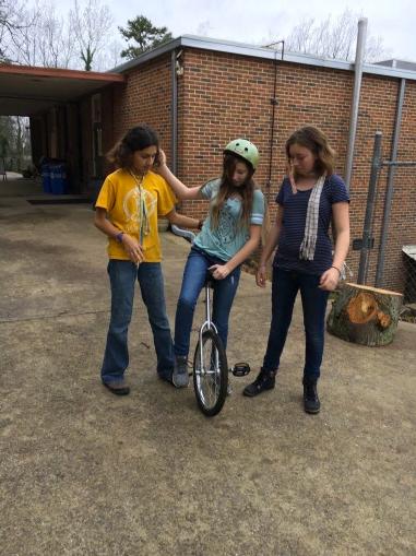 middle school unicycle
