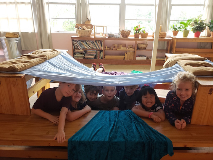1st grade bench forts