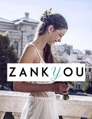 Anathee Collection Blanche sur Zank You