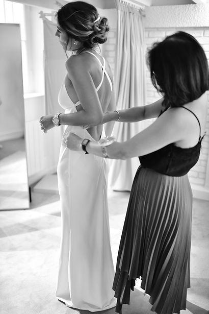 Robe de mariée Anathee Collection Blanche Marseille essayage