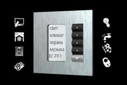 Умный дом панель управления