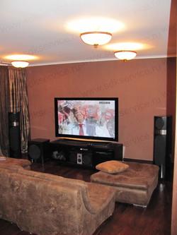Домашний кинозал с акустикой Focal