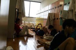Kodokan Changing room