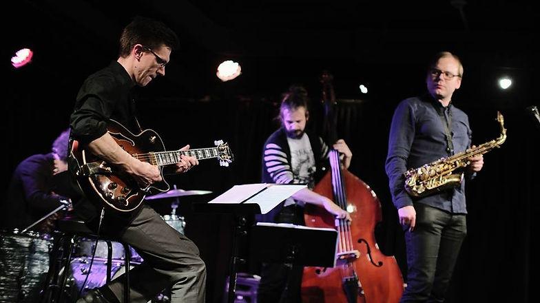 Mathias Sandberg - Jonas Rönnqvist Quartet