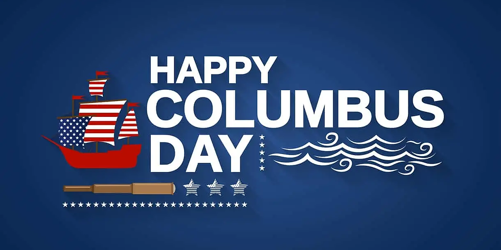 Columbus Day - Offices Closed