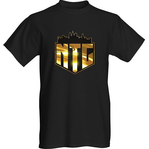 Male NTG Graphic Tee (Black &Gold)