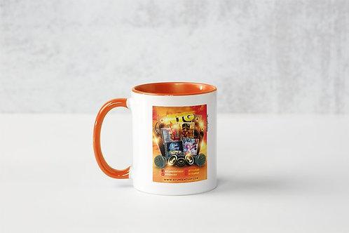 Album Promo Flyer Mug