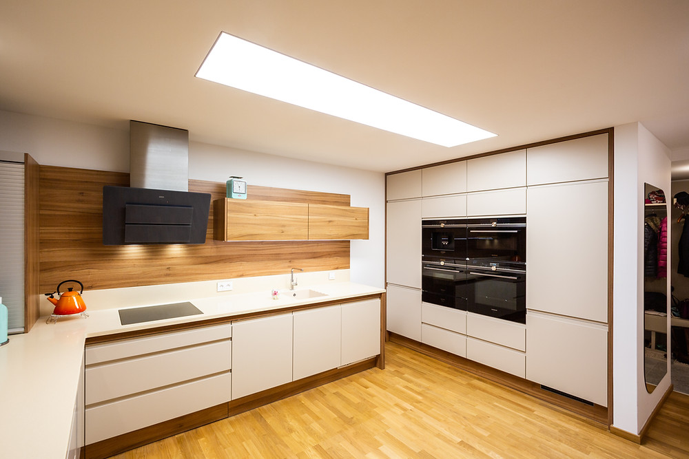 osvetlenie kuchyne zapustené svietidlo svetelné stropy