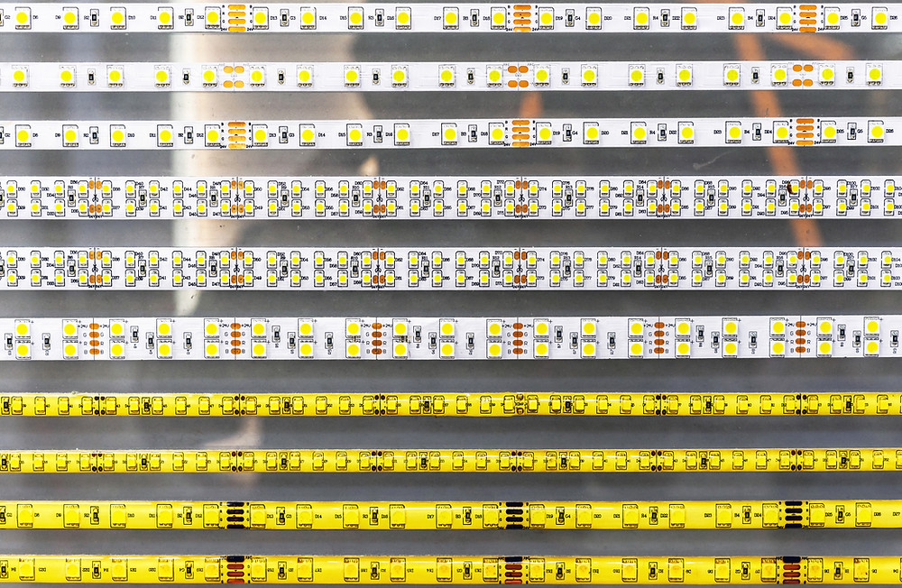 Rozne typy LED zdrojov