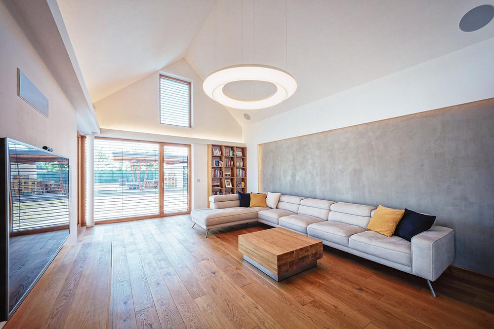 osvetlenie obývačky LED svietidlo svetelné stropy