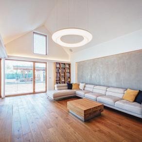 Projekt osvetlenia domu Šamorín 02.2016: Moderný minimalizmus a čisté línie