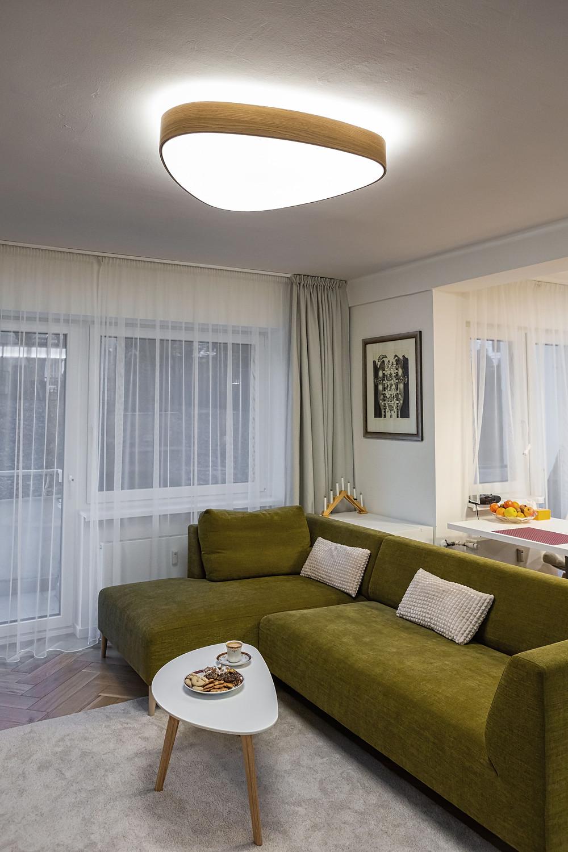 osvetlenie obývačky dizajnové svietidlo svetelné stropy