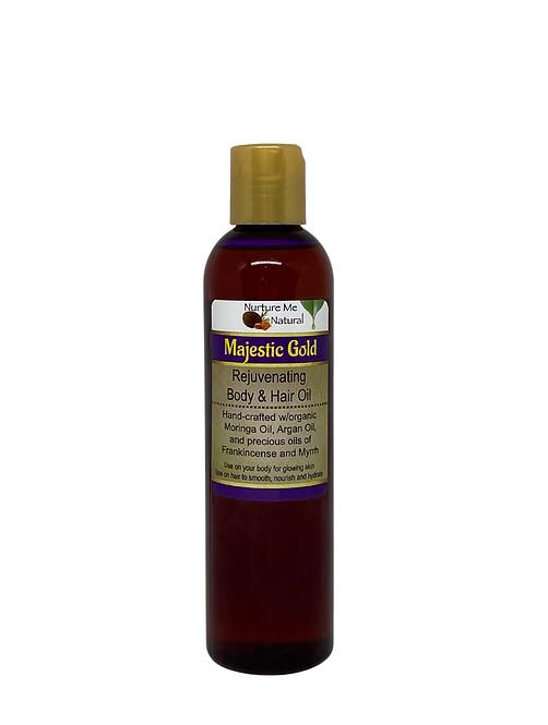 Majestic Gold Rejuvenating Body & Hair Oil