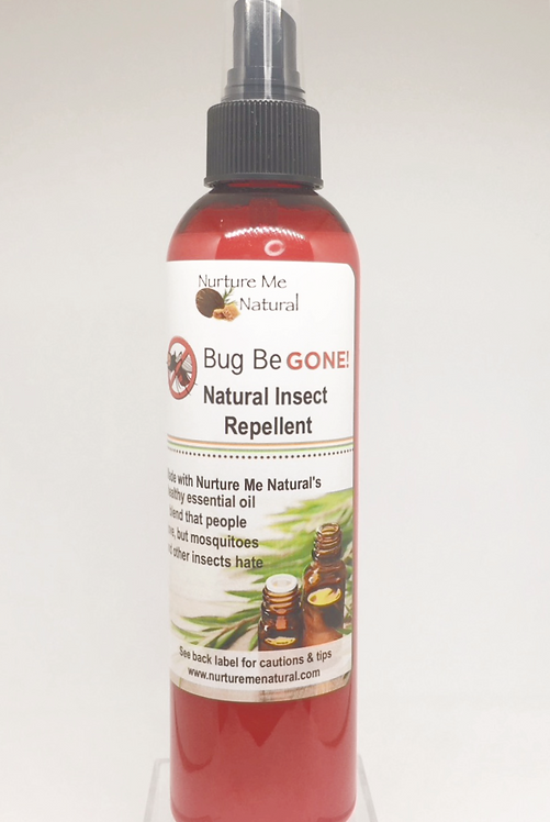 Bug Be Gone Natural Insect Repellent