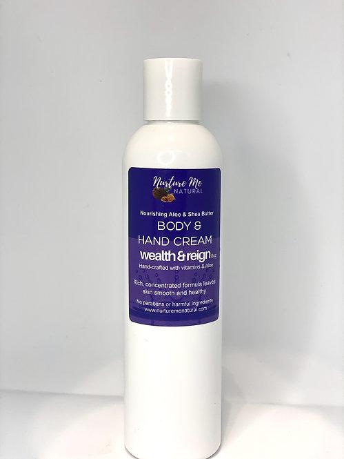 Body & Hand Cream-Wealth & Reign