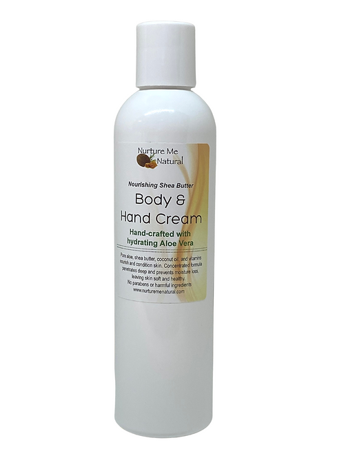 Body & Hand Cream-Unscented