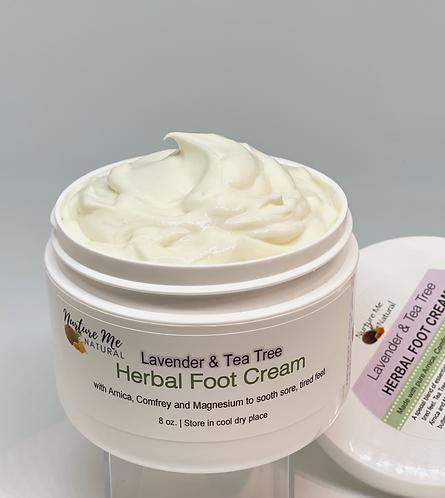 Lavender Tea Tree Foot Cream
