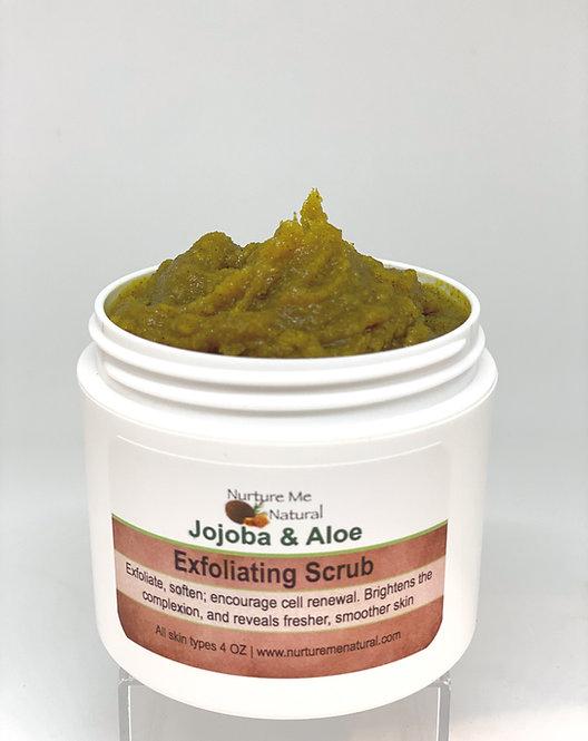 Jojoba & Aloe Face Scrub
